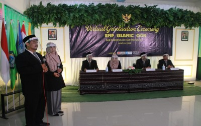 VIRTUAL GRADUATION SMP ISLAMIC QON TP 2019 – 2020 Kamis, 17 Juni 2020
