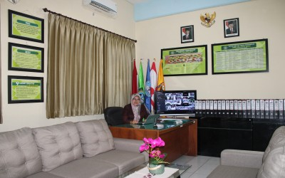 SAMBUTAN KEPALA SEKOLAH PADA PEMBUKAAN MPLS DARING
